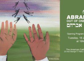« Abraham – Beaucoup, issus de un » – Exposition d'art à Paris