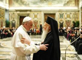 Adresse du pape François au Patriarche Bartholomée