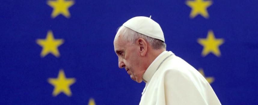Discours du pape François au parlement européen le 25 novembre 2014