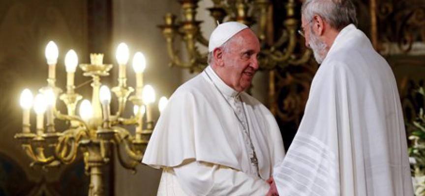 Message du Pape François au Grand Rabbin de Rome
