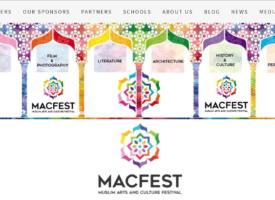Festival MACFEST à Manchester sur les arts et la culture musulmans, janvier 2020
