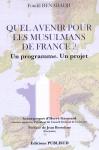 Quel avenir pour les musulmans de France page de couv