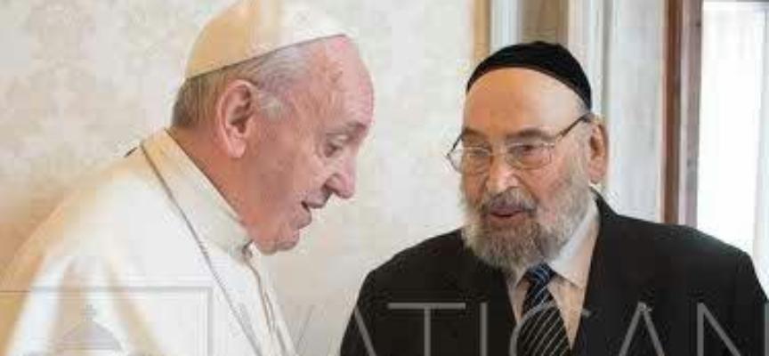 Conférence à Rome de Monsieur René-Samuel Sirat, ancien Grand Rabbin de France