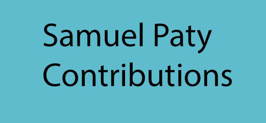 Samuel Paty : quelques réflexions